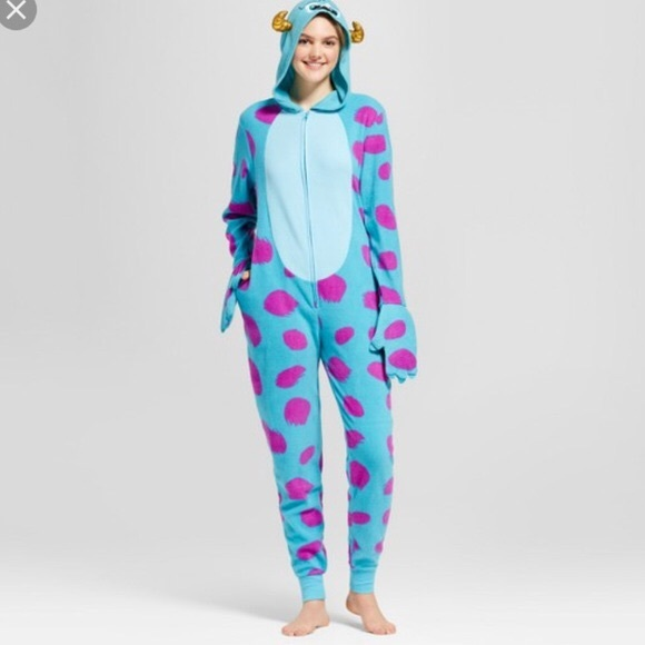 Disney Other Sully Monsters Inc Onesie Halloween Costume Poshmark